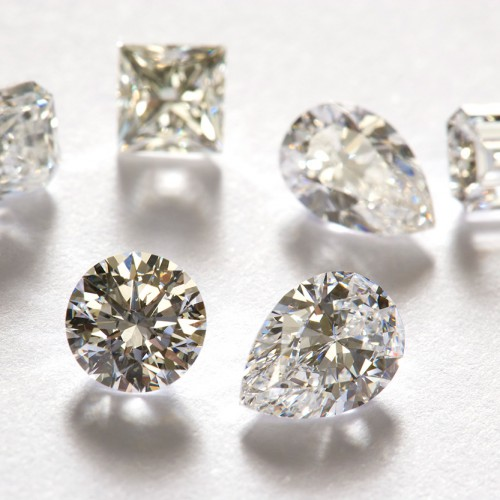 Cut and Polished Diamonds #3