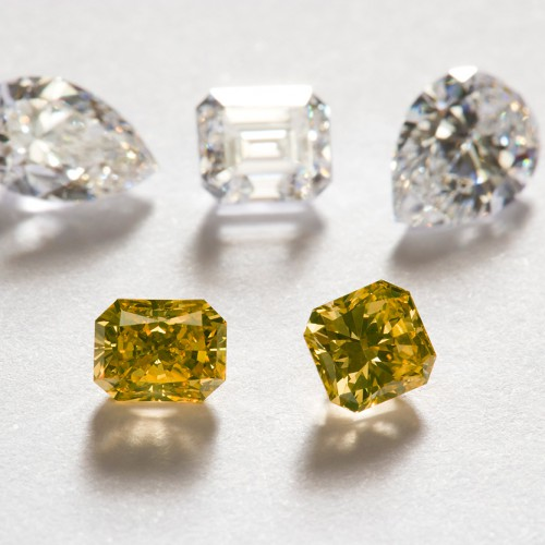 Cut and Polished Diamonds #4